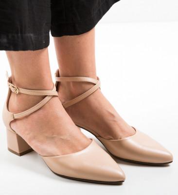 Обувки Sandiko Бежов