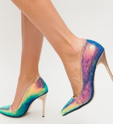 Обувки Sclipy Златни