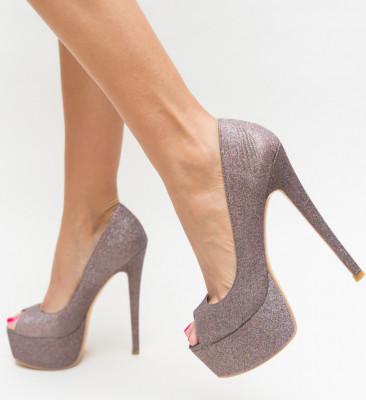 Обувки Soja Кафяви