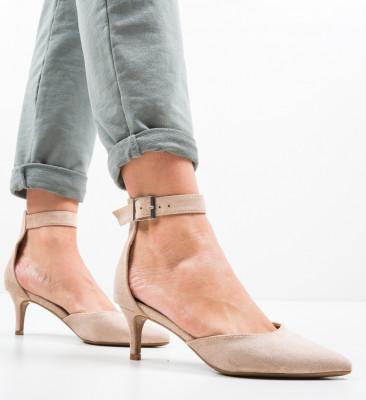 Обувки Vill Бежов