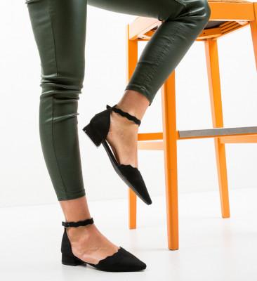 Обувки Wood Черни