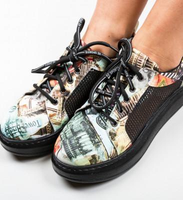 Спортни обувки Lowo 3 Черни