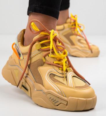 Спортни обувки Rekom Камел