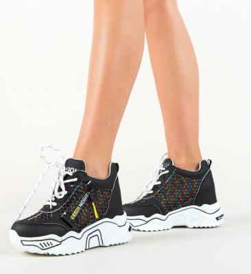 Спортни обувки Sprank Черни