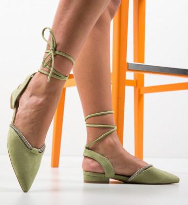 Балерини Hicks Зелени