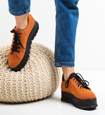Ежедневни обувки Dutano Оранжеви