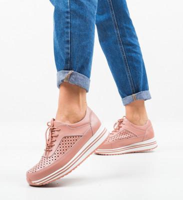 Ежедневни обувки Eve Розов
