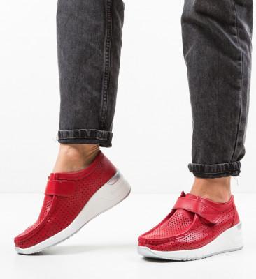 Ежедневни обувки Farza Червени