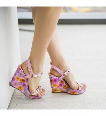 Обувки на Платфрома Дати Розови