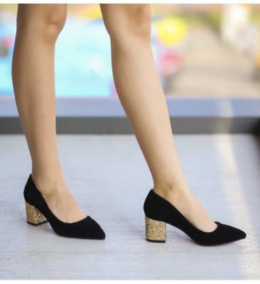 Обувки Ристо Черни