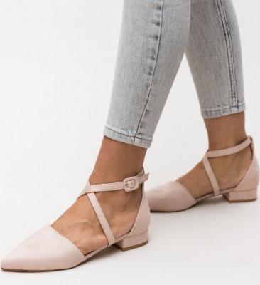 Обувки Amisha Бежови