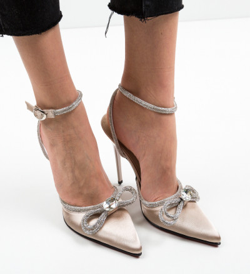 Обувки Barkas Златни