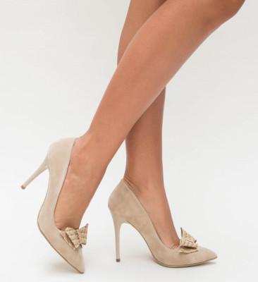Обувки Bimon Бежови