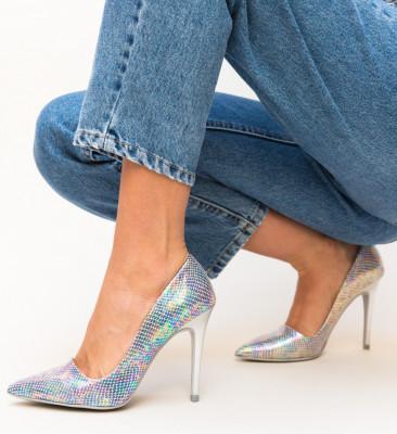 Обувки Catherine Сребърни