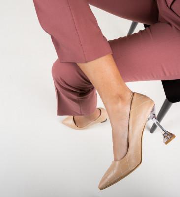 Обувки Celine Нуд