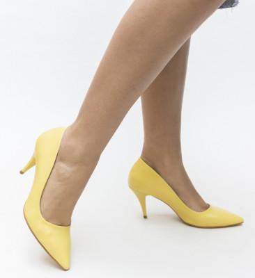 Обувки Crunch Жълти