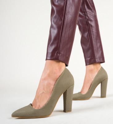 Обувки Diablo Каки