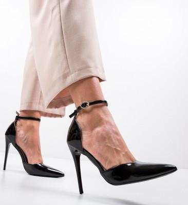 Обувки Emile Черни