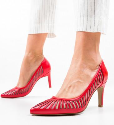 Обувки Genmeli Червени
