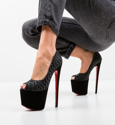 Обувки Quker 4 Черни
