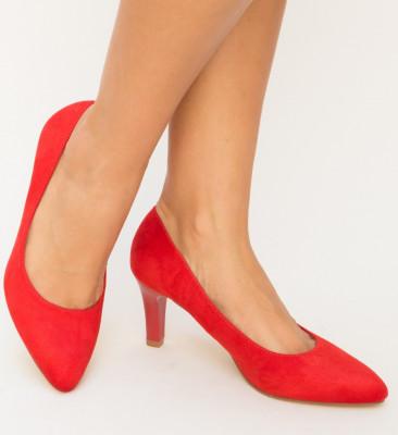 Обувки Sedora Червени