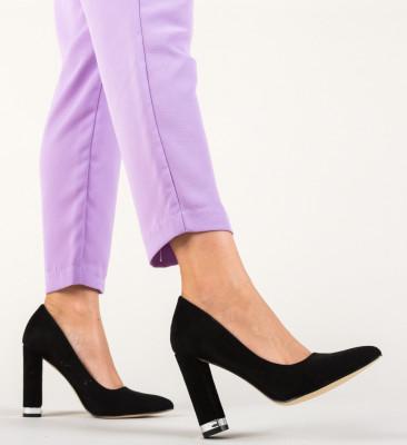 Обувки Sofie Черни