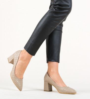 Обувки Spic Бежов