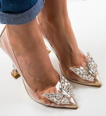 Обувки Steliz Златни