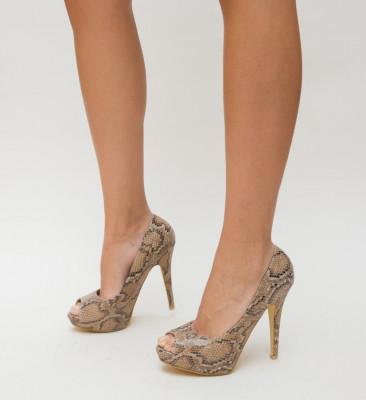 Обувки Vasmina Кафяви
