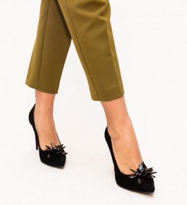 Обувки Zalos Черни 2