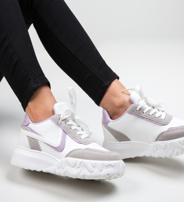 Спортни обувки Dodd Лилав
