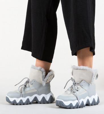 Спортни обувки Feelo Сив