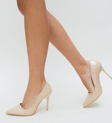 Pantofi Clemas Nude