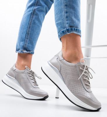 Ежедневни обувки Aariz Сив