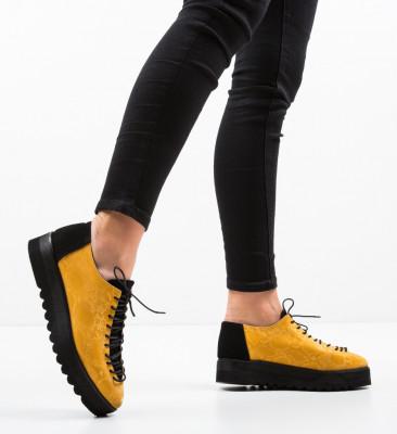 Ежедневни обувки Asco Жълти