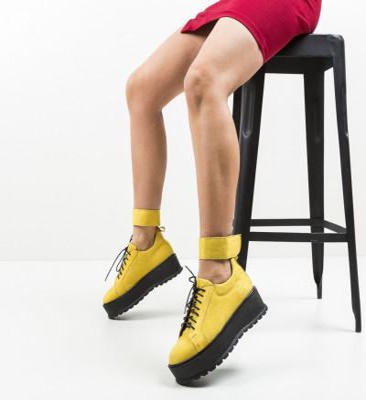 Ежедневни обувки Brosky Жълти