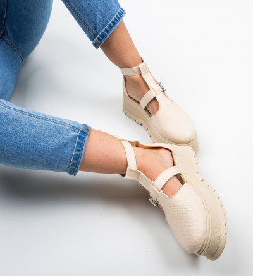 Ежедневни обувки Clonata Бежов