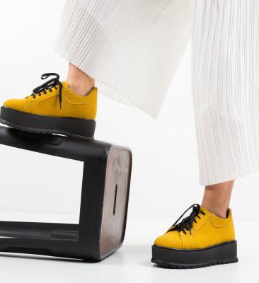 Ежедневни обувки Dutano Жълти