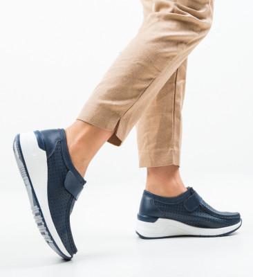 Ежедневни обувки Farza Тъмносин