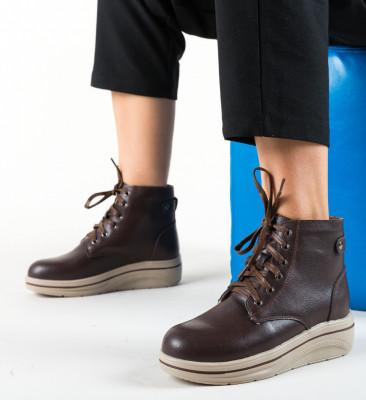 Ежедневни обувки Lakiob Кафяв