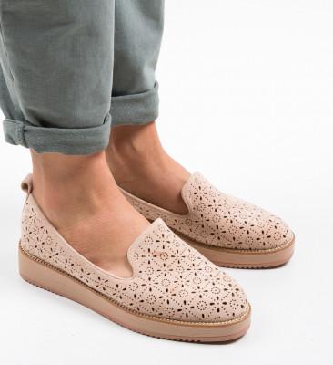 Ежедневни обувки Omega Бежов