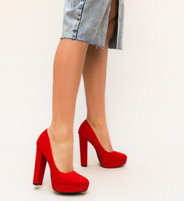 Ежедневни Обувки Sender Червени