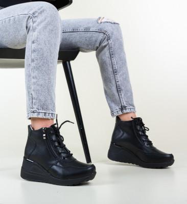 Ежедневни обувки Vance Черни