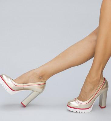 Обувки Аргус Златни