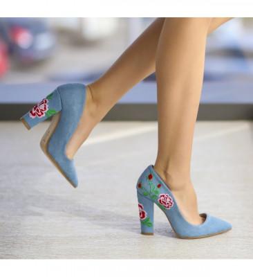 Обувки Витон Сини