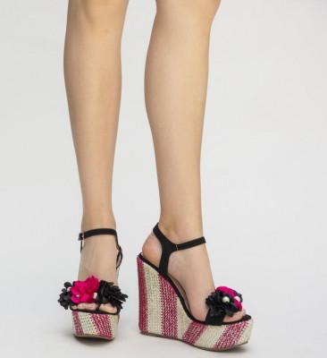 Обувки на Платфрома Домис Червени