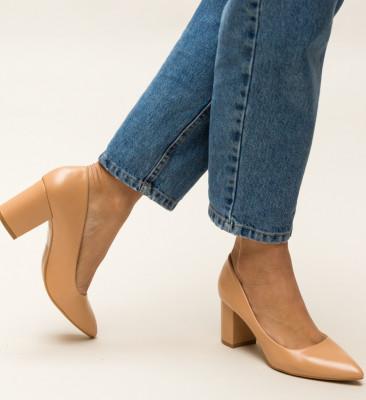 Обувки Allman Бежови