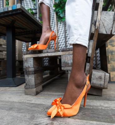 Обувки Andras Оранжеви