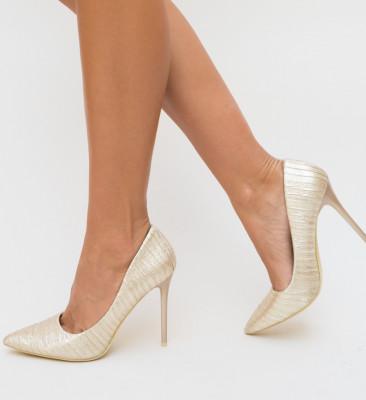 Обувки Carten Златни
