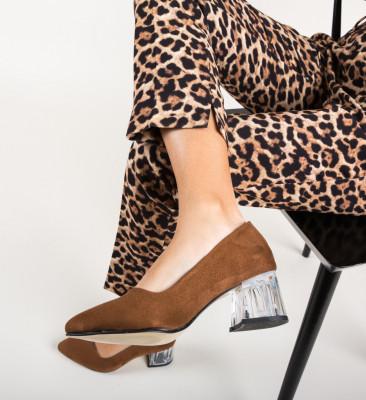 Обувки Dove Кафяв
